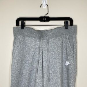 NWT Nike Gray Sweat Pants Women's L